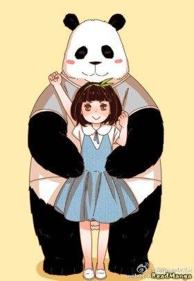 Мой парень – панда - Постер